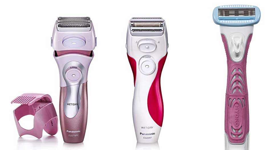 Electric razor for women, iston rechargeable wet and dry painless lady shaver body hair remover for face legs un
